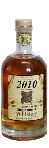 2010 Single Barrel Whiskey