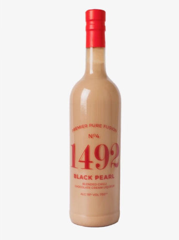 Black Pearl Blended Chilli Chocolate Cream Liqueur 750ml