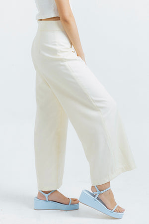 Milan pants in Macadamia