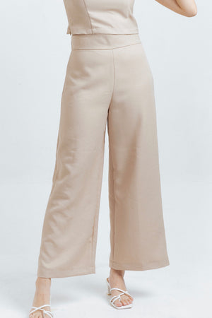 Milan pants in Almond
