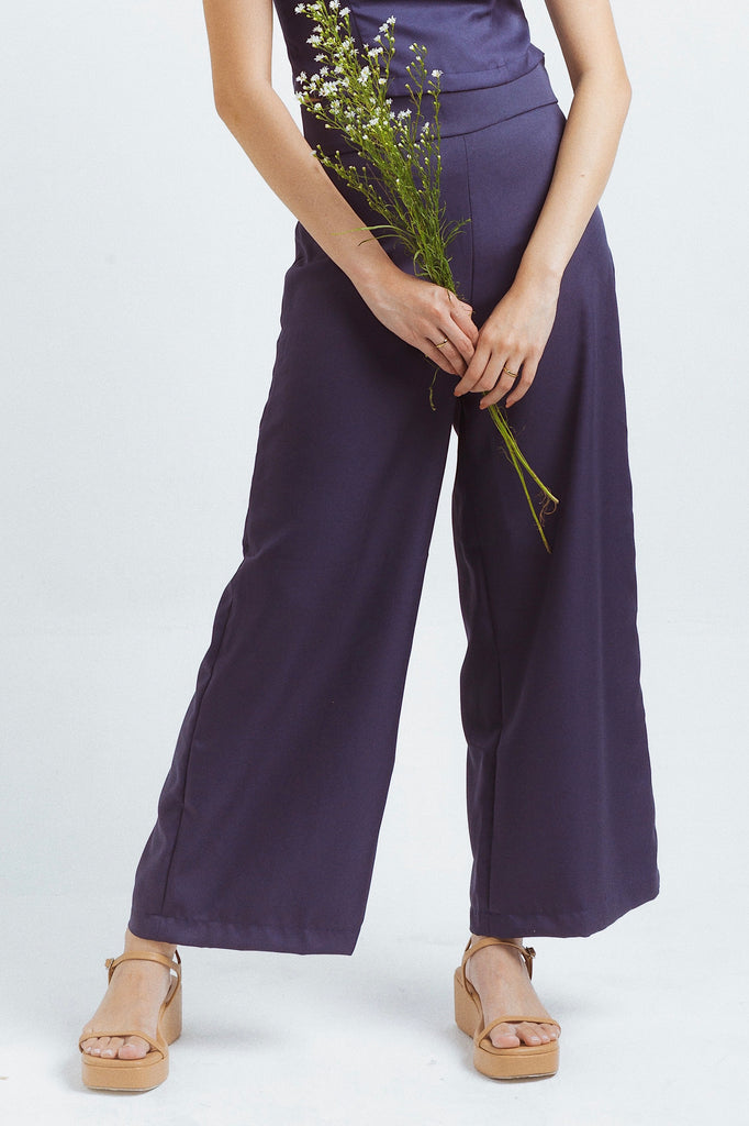 Milan pants in Navy