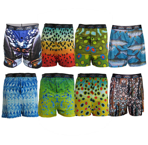 Men's Fly Fishing Boxers