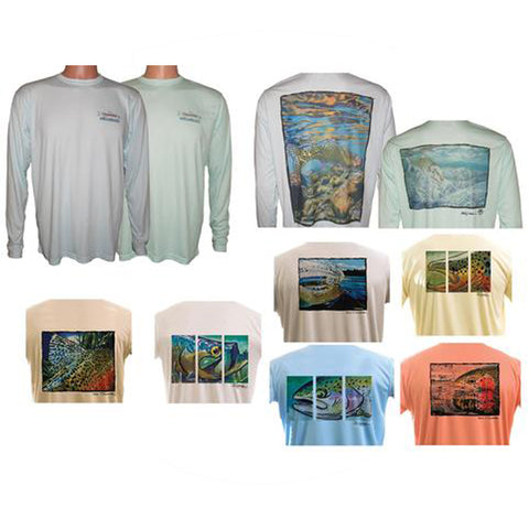 Men's UPF50 Long Sleeve T's