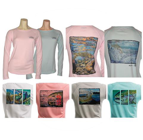 Women's UPF50  Long Sleeve T's