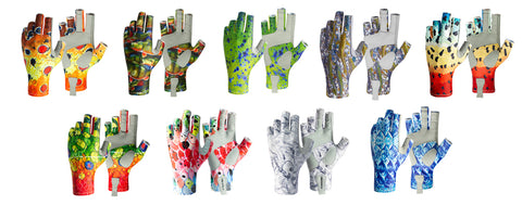 Fincognito Sun Gloves offer great sun protection for fishing, fly fishing, rowing, paddling, and outdoor activities.