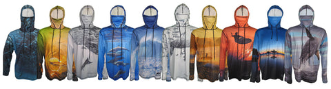 Oceancognito sun protective hoodies beach surf and dive apparel