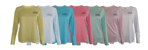 Women's UPF50 Sun Protective Fishing Shirts
