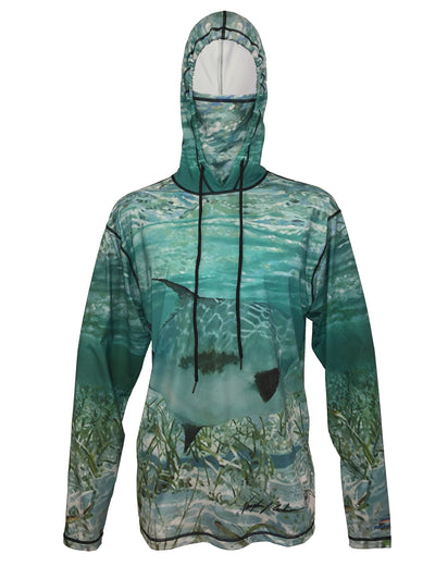Permit Graphic Fishing Hoodie
