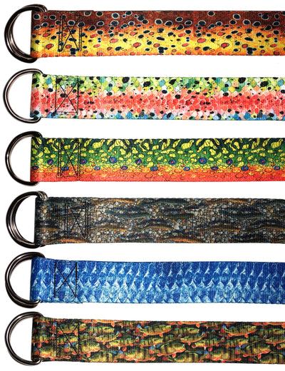 Peacock Bass Webbing Belt