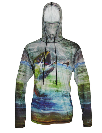 Brook Trout Graphic Fishing Hoodie