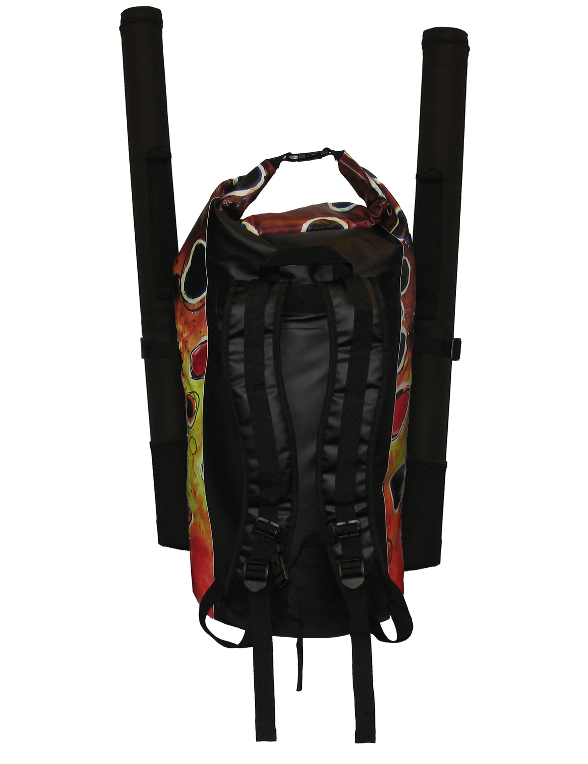 Brown Trout2 Dry Bag Backpack