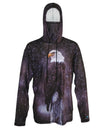 Eagle Sun Protective Wildlife Graphic Hoodie