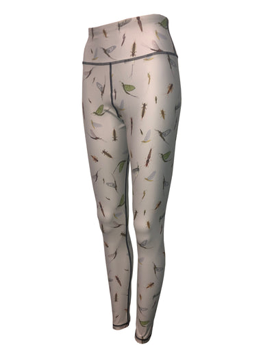 Mayfly Patterned Graphic Leggings