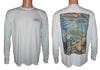 Men's Freestone/Arctic Blue Solar Performance L/S T