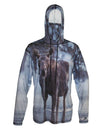 Moose Drool Sun Protective Wildlife Graphic Hoodie