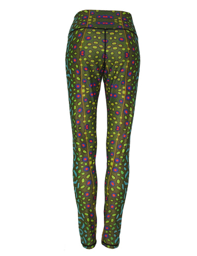 Brook Trout All Sport Leggings perfect comfort for rock climbing, yoga, biking, fishing, backpacking, a great night out on the town or any adventure