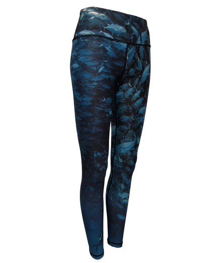 Scuba Jacks surfing and diving beach leggings offer sun protection, perfect for a day at the beach or on the ocean.