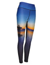 Two Surfers Surf and Dive leggings give UPF50 sun protection on the beach for surfing.  Great surf apparel.