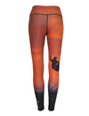 Oceancognito Sunset Surfer All Sport Leggings