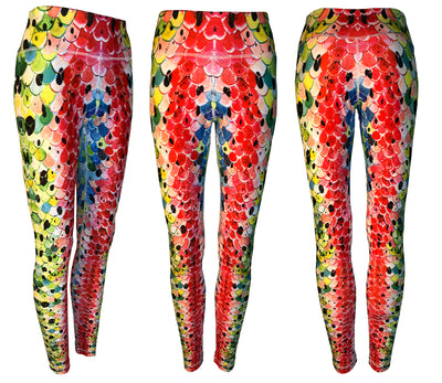 Rainbow#3 Trout All Sport Leggings