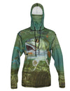 Redfish Sunpro Hoodie fishing clothing brand offers SPF Protection from harmful UV Rays.  Set a Theme for a Wedding or just spend a day on the grass fishing.
