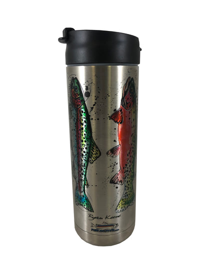 Grand Slam Hot/Cold Beverage Bottle-18 Oz., Stainless