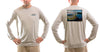 Men's Whiplash/Grey Solar Performance L/S T