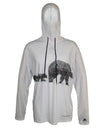 Three Bears Sun Protective Wildlife Graphic Hoodie
