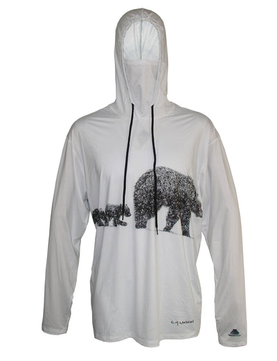 Wildlife Three Bears Sun Protective Hoodie