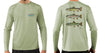 Men's Trout Trio/Sage Solar Performance L/S T