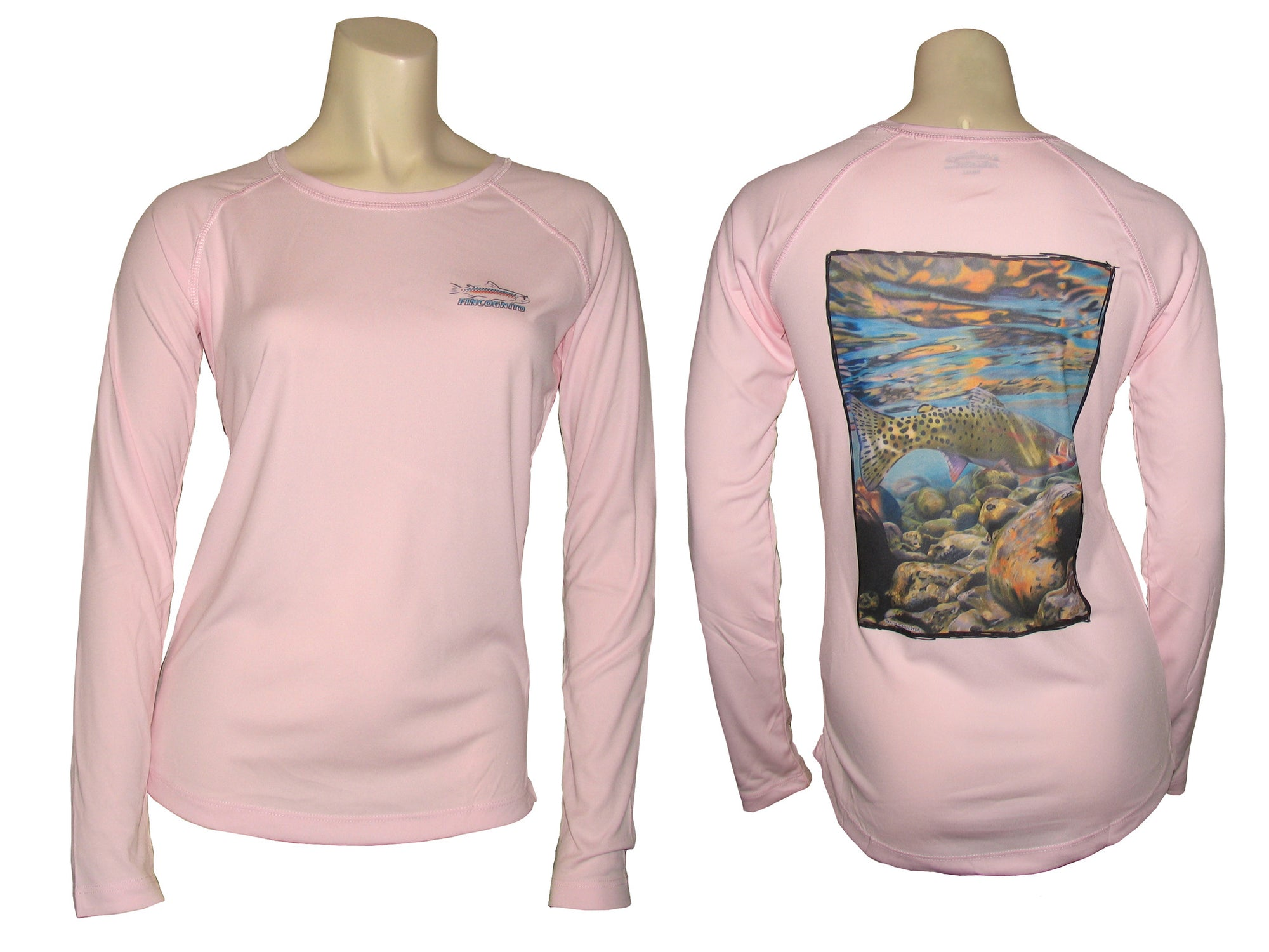 30a93afdb Women s Cutthroat Trout UPF50 L S Fishing T Shirt - Cognito Brands