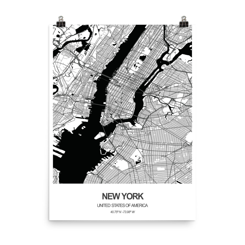 New York, United States of America - Poster Wall Art