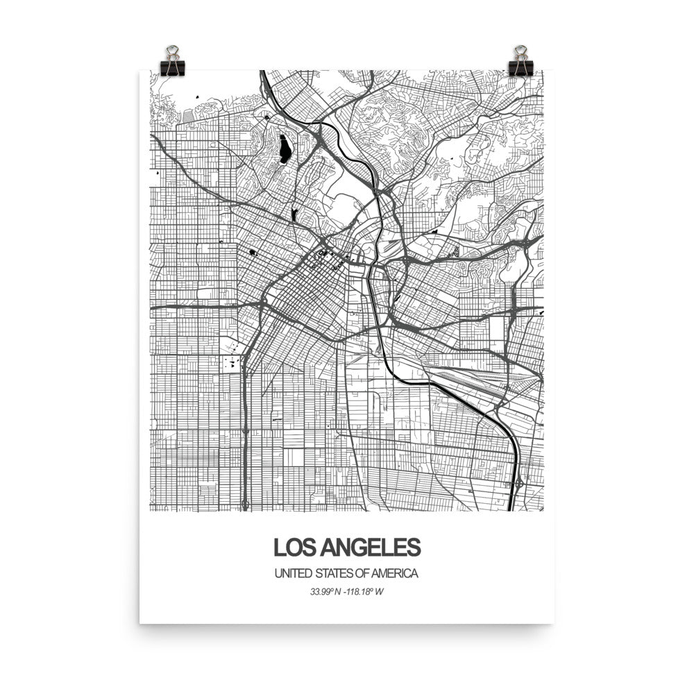 Los Angeles, United States of America - Poster Wall Art