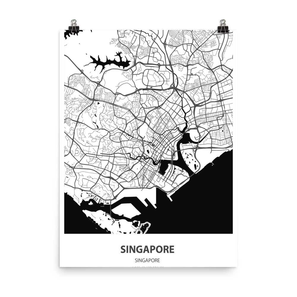 Singapore - Poster Wall Art