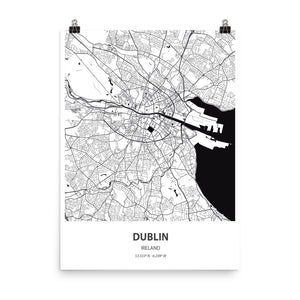 Dublin, Ireland - Poster Wall Art