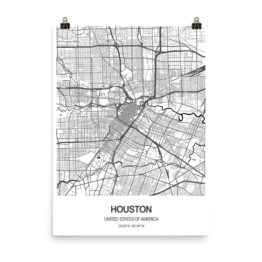 Houston, United States of America - Poster Wall Art