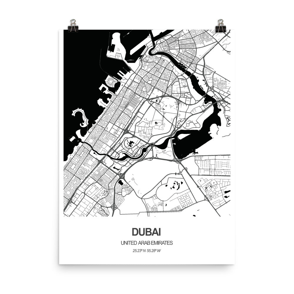 Dubai, United Arab Emirates - Poster Wall Art