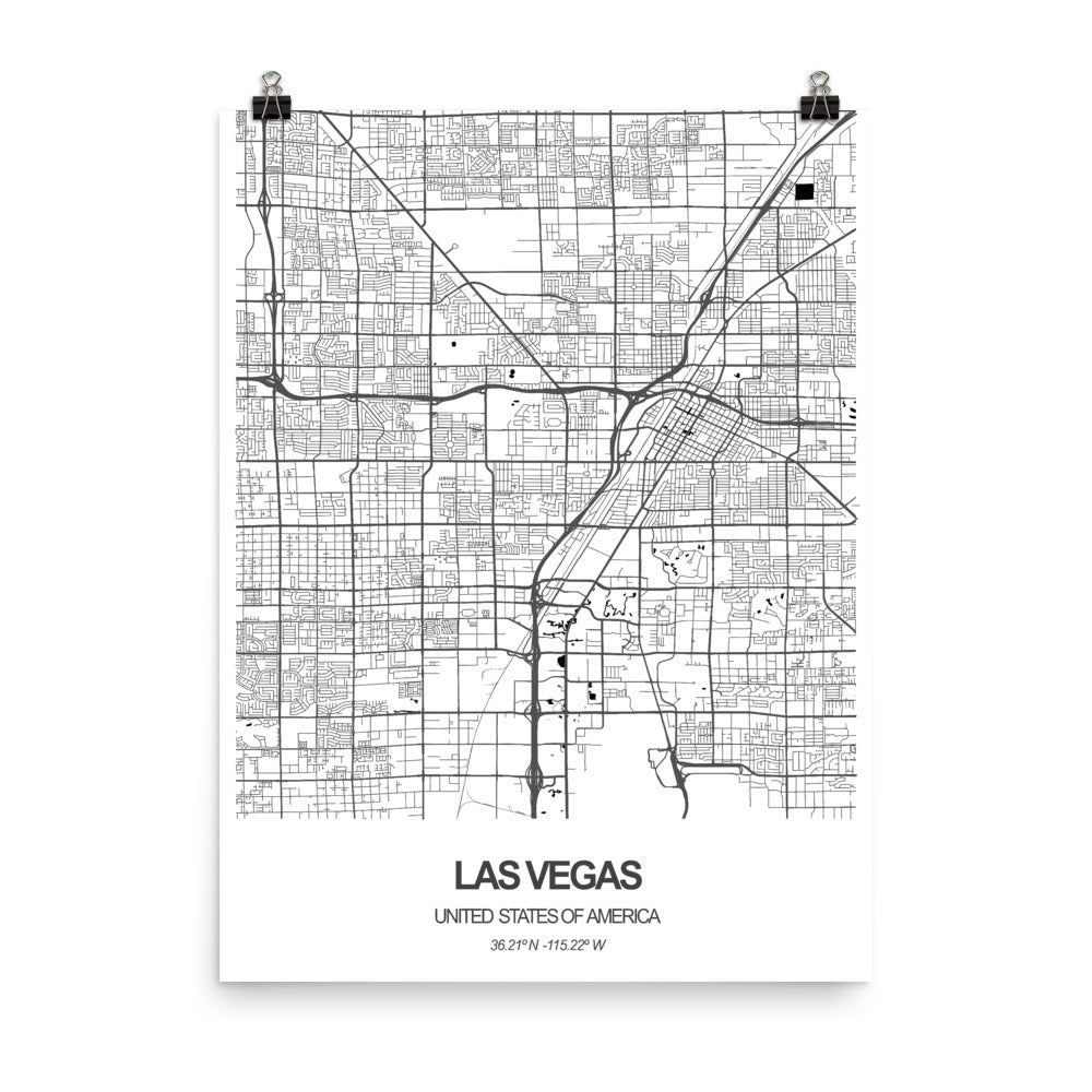 Las Vegas, United States of  America - Poster Wall Art