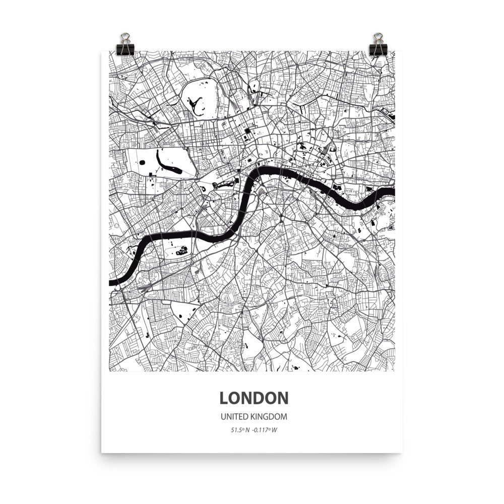 London, United Kingdom - Poster Wall Art