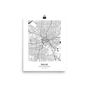 Dallas, United States of America - Poster Wall Art