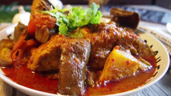 Assam Pedas Fish (Tenggiri Fish)