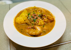 Pineapple Prawns Curry
