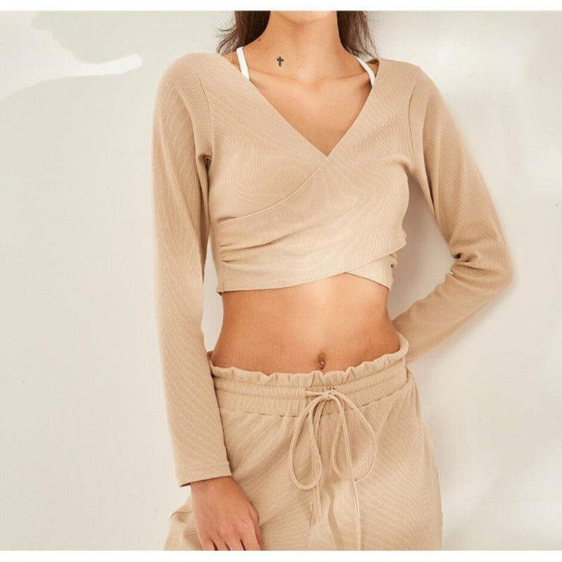 Zoe Crop Sweater