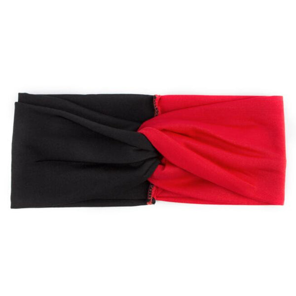 Turban headband women twist elastic headband head band sport yoga headband headdress headwrap girls hair accessories