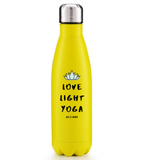 Love Light Yoga Tumbler