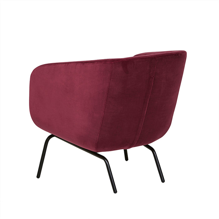Juno Tub Metal Leg Occasional Chair