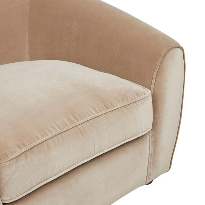 Bogart Arc 1 Seater Sofa