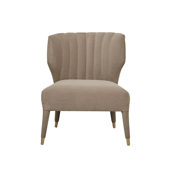 Theodore Scalloped Occasional Chair