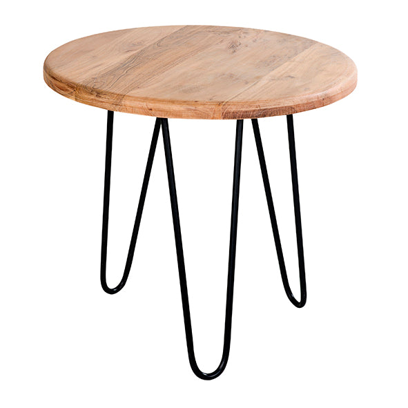 Presley Round Pin Side Table