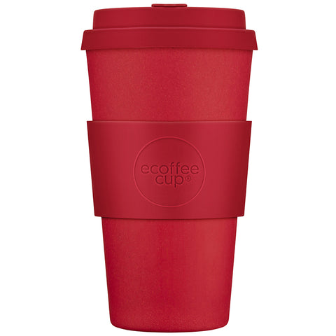 Ecoffee Cup puodelis Red dawn 470ml